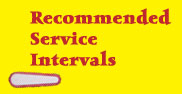 recommended service intervals